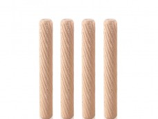 Twisted Grooved Dowel Pins