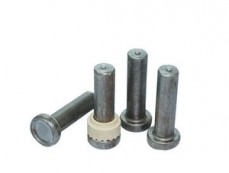 Nelson shear stud with ceramic ring